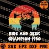 Jason Hide And Seek Champion 1980 SVG