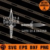 Loki Love Is A Dagger SVG