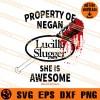 Lucille Slugger SVG