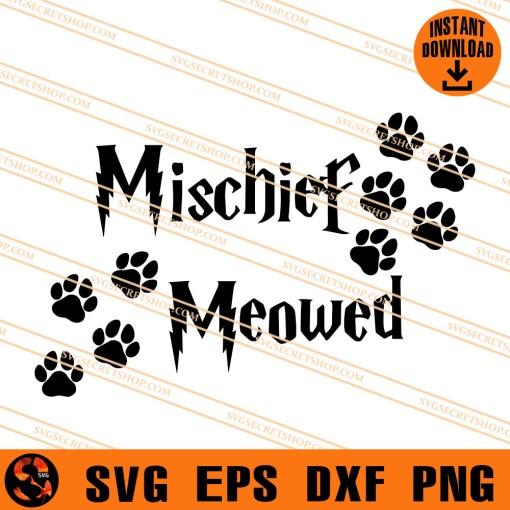 Mischief Meowed SVG