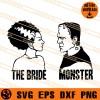 The Bride Monster SVG