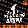 The Walking Drunk SVG
