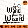 The Wand Choose The Wizard SVG