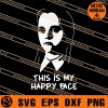 Wednesday This Is My Happy Face SVG