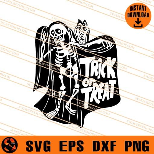 trick or treat skeleton SVG
