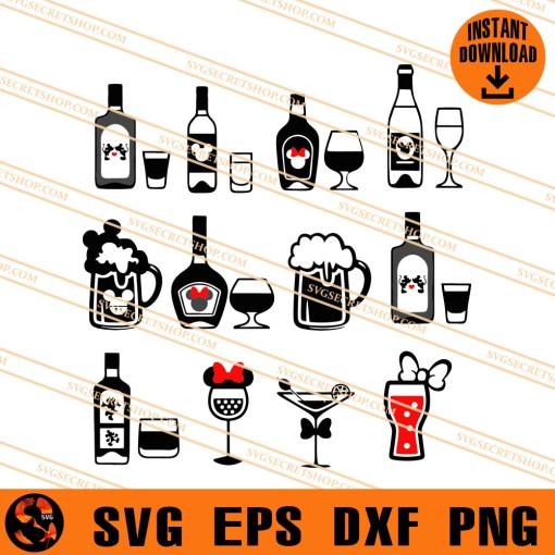 Drinking Disney SVG