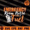 Emergency Room Nurse Fuel SVG