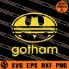 Gotham Logo SVG