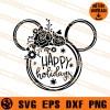 Happy Holidays Disney SVG