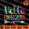 Hello Kindergarten SVG