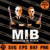 Maniacs In Black SVG
