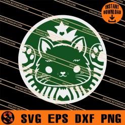 Meowbucks Coffee SVG