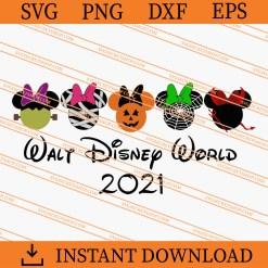 Halloween Walt Disney World 2021 SVG