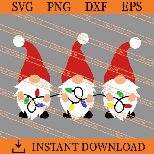 Christmas Gnome SVG