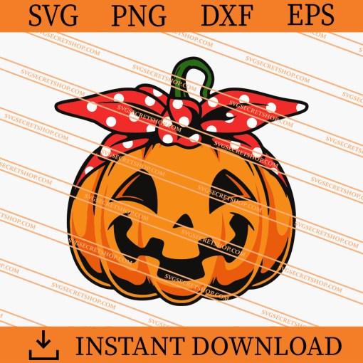 Cute Pumpkin SVG