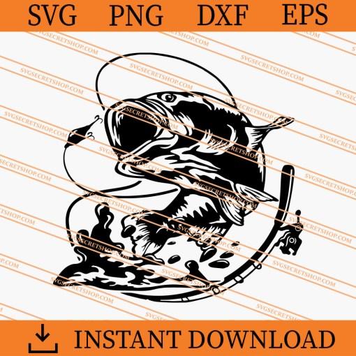 Fishing SVG