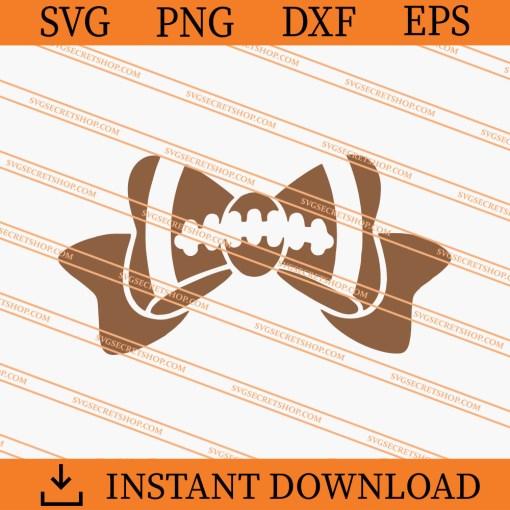 Football Bow SVG