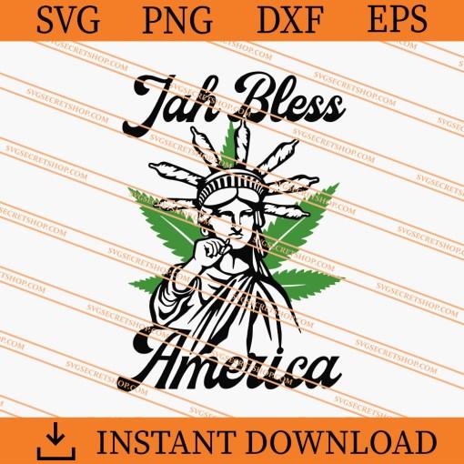 Jah Bless America SVG
