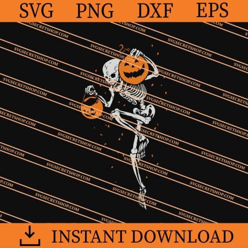 Skeleton Halloween SVG