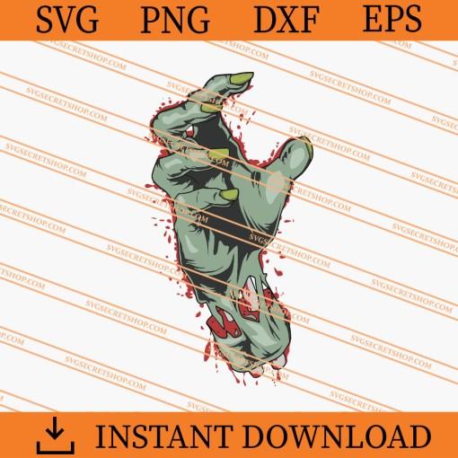 Zombie Hand SVG