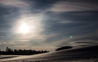 foto landskap natur snø