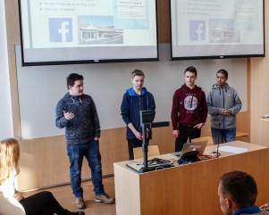 innovasjonscamp finalister auditorium sørumsand vgs mk