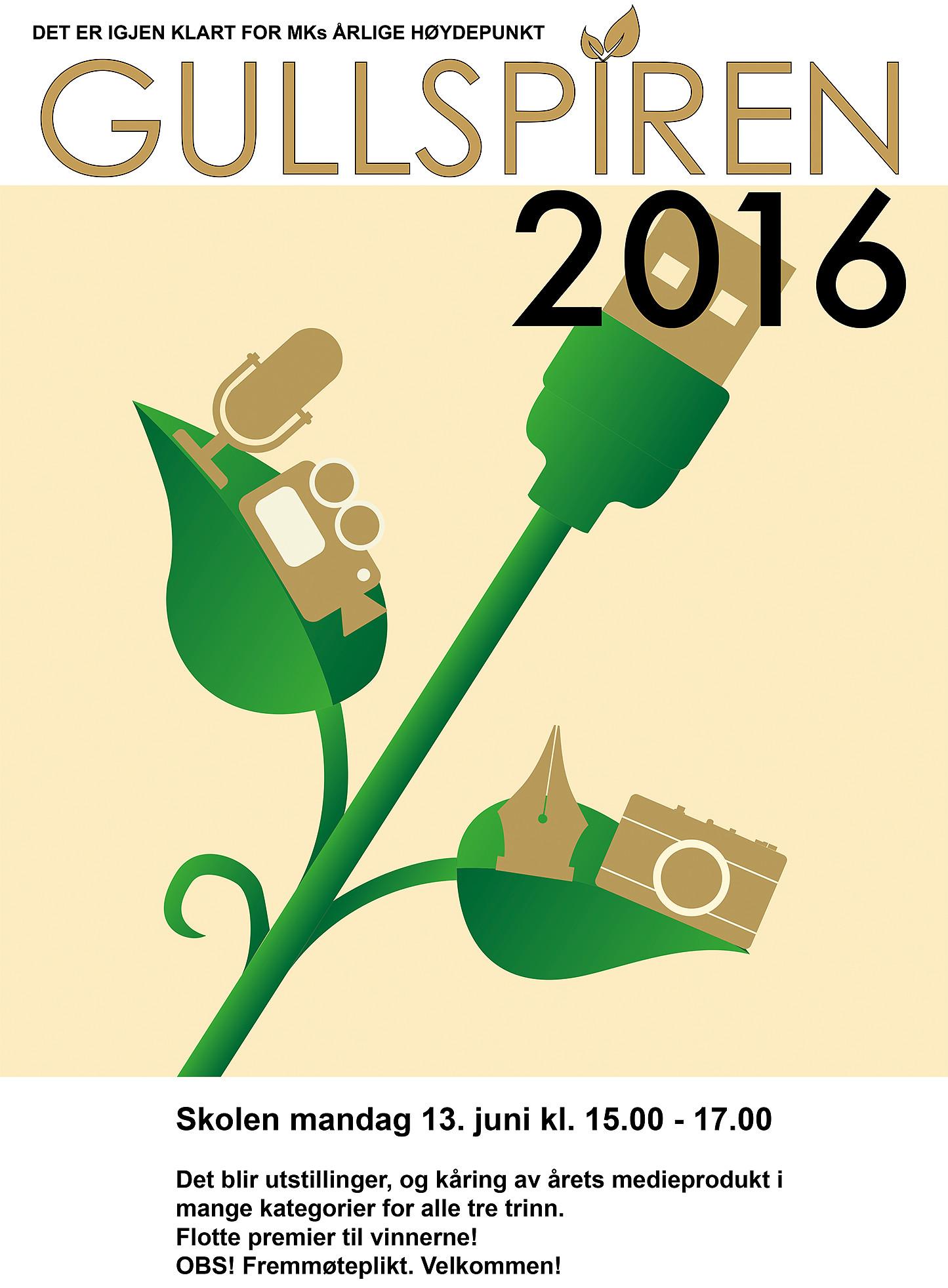 Gullspiren  2016