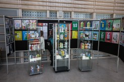 utstilling, kartonger, plakater, mk-sørumsand