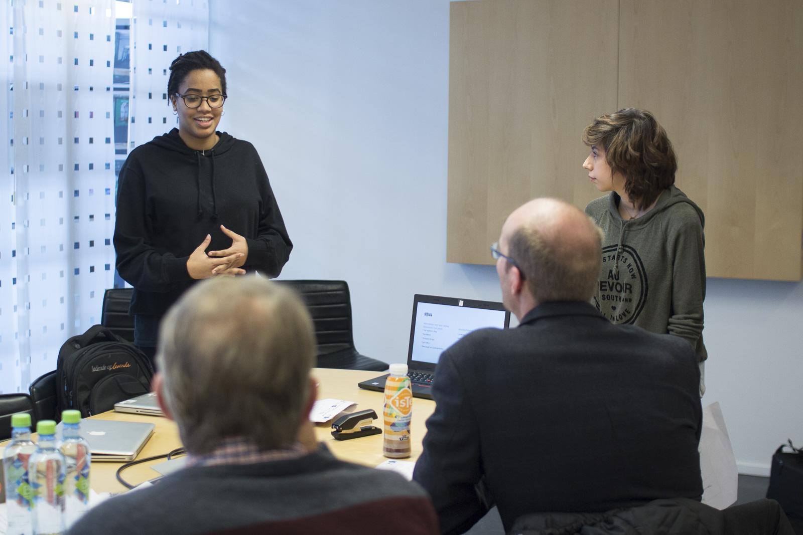 Gründercamp i regi av Ungt Entrepenørskap på MK-Sørumsand