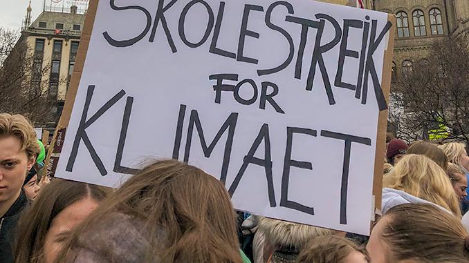 klimastreik,demonstrasjon,journalistikk,mediefag,mksørumsand
