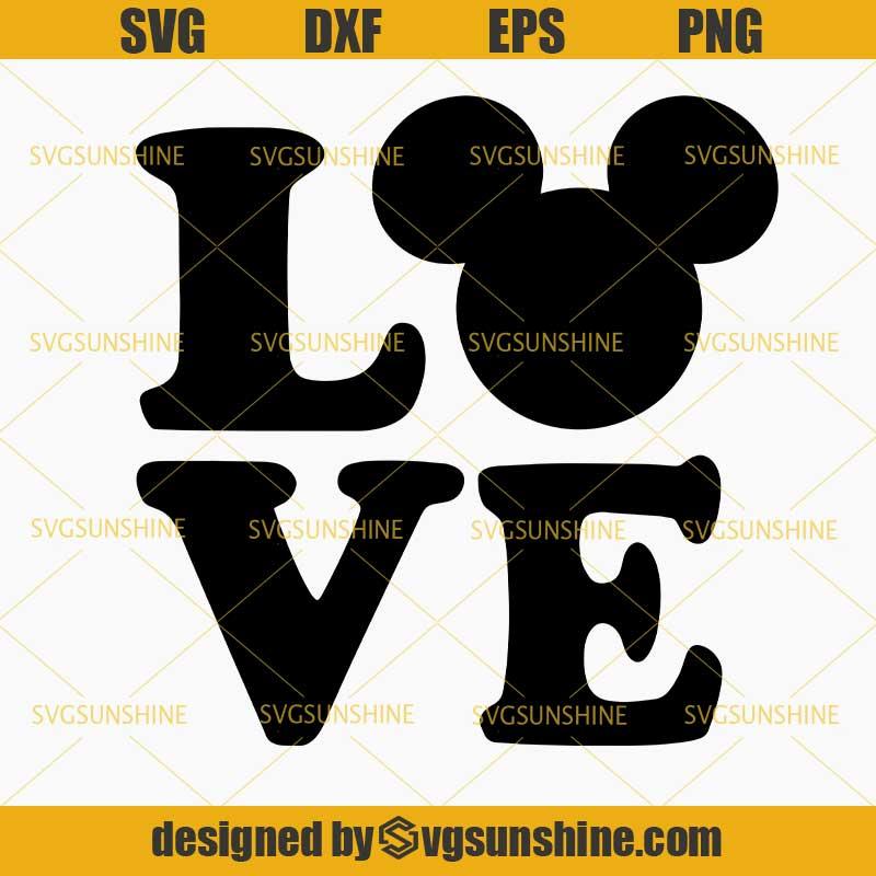 Download Love Mickey SVG, Mickey Mouse SVG , Disney SVG - Svgsunshine