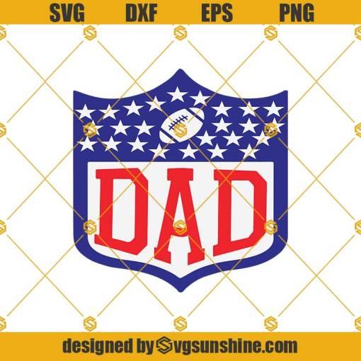 NFL Football Dad Svg, NFL Football Svg, NFL Svg, Football Svg, Dad Svg