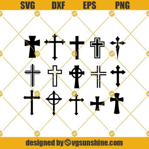 Cross Svg, Cross Svg Silhouette Files