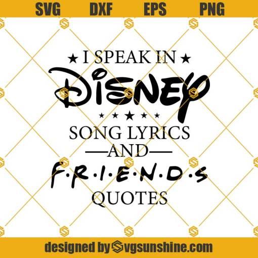 Friends Friends Svg, Disney Svg, Friends Svg