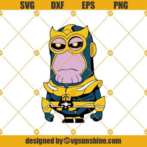 Minion Thanos Svg, Minion Svg, Thanos Svg