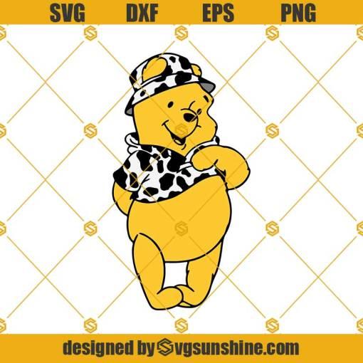 Layered Svg, Winnie the Pooh Svg, Grouped svg, Winnie svg, Piglet Svg, Cow Print Svg, Disney Cow Svg, Disney Cow Print Svg