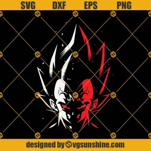 Majin Saiyan Vegeta Svg, Vegeta SVG, Saiyan SVG, Dragon ball SVG, Vegeta Red Svg
