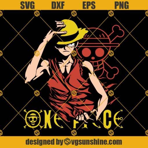 One Piece Monkey D. Luffy Svg, Anime Svg, One Piece