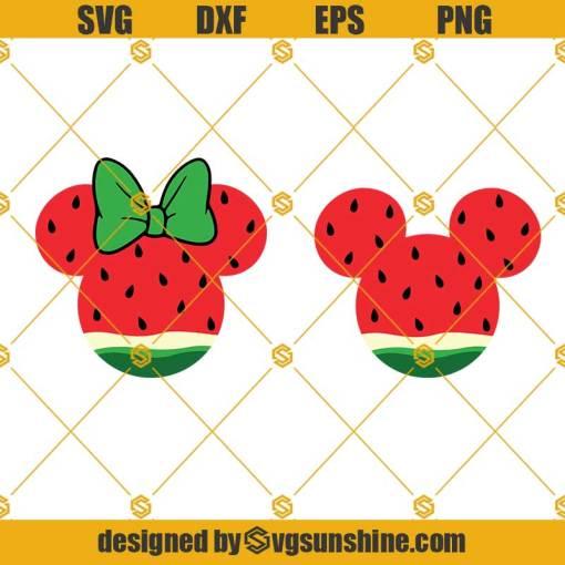 Watermelon Mickey Svg, Watermelon Svg,Fruits Svg, Summer Svg, Mickey Svg, Disney Svg