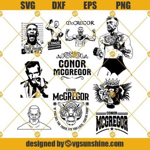 Conor McGregor SVG, UFC SVG, Conor Mcgregor Svg Bundle, Ireland SVG