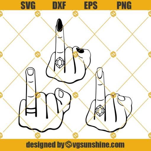 Wedding Fingers Svg, Couple Svg, Groom Ring Svg, Bride Ring Svg, Engagement Ring Svg, Bride Groom Svg, Husband Wife Svg