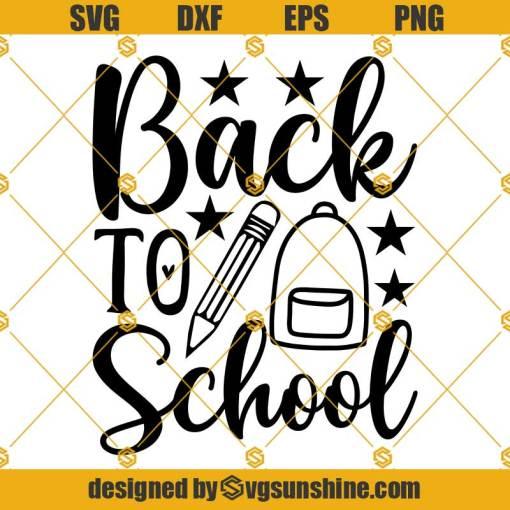 Back To School Svg, First Day Of School Svg, Boy School Shirt svg, teacher gift svg