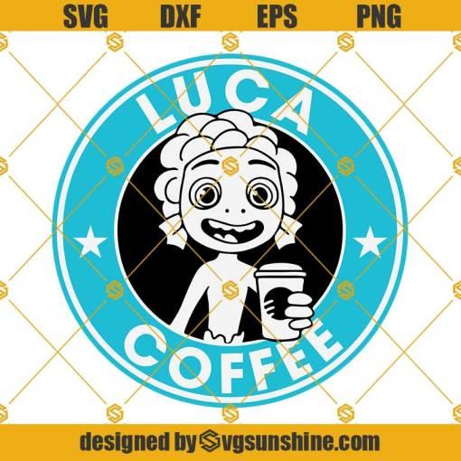 Luca Coffee Disney SVG, Pixar Movie SVG, Luca SVG