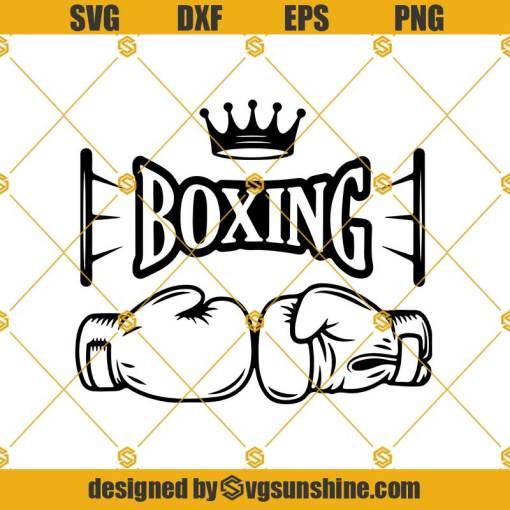 Boxing Gloves Svg