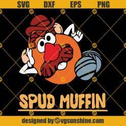 Spud Muffin Svg, Spud Muffin Toy Story 3 Svg, Toy Story Svg