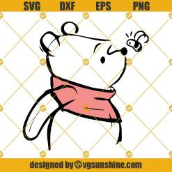 Winnie The Pooh Svg, Pooh Svg, Pooh And Bees Svg