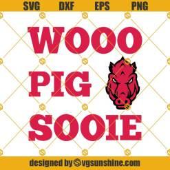 Woo Pig Sooie Svg, Arkansas Razorbacks Svg
