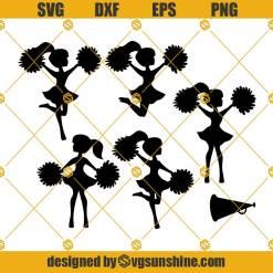 Cheerleader Svg, Dance Svg, Cheerleading Svg Bundle