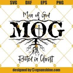 Man Of God Rooted In Christ svg, Christ svg, God Svg, Christ Quotes Svg