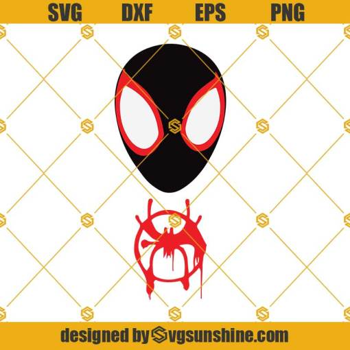 Into The Spider Verse Svg